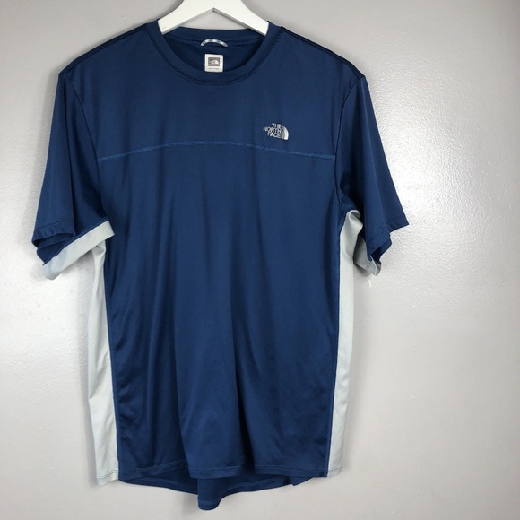 3cf5fe9ce The North Face Mens Athletic Shirt Size M Blue